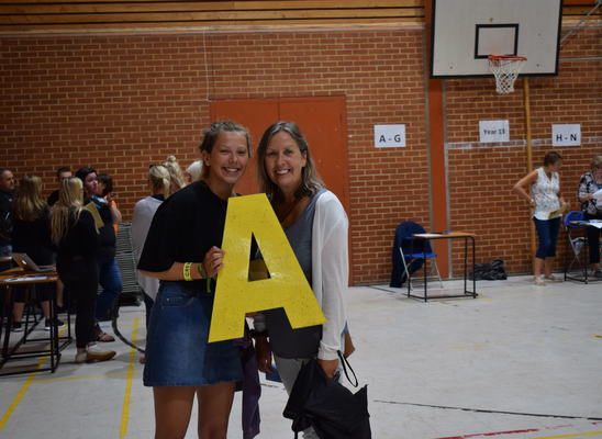 Pws a level results edie freestone and mum