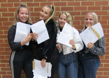 Top marks for Prince William School as staff and pupils celebrate GCSE results