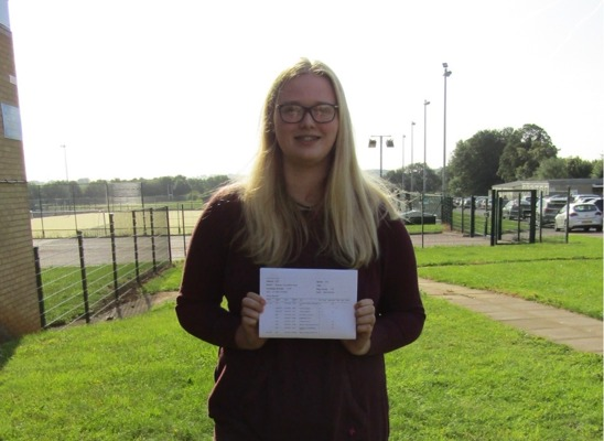 GCSE results 2019 Madison Ross 3 grade 9s 3 grade 8s 2 grade 7s