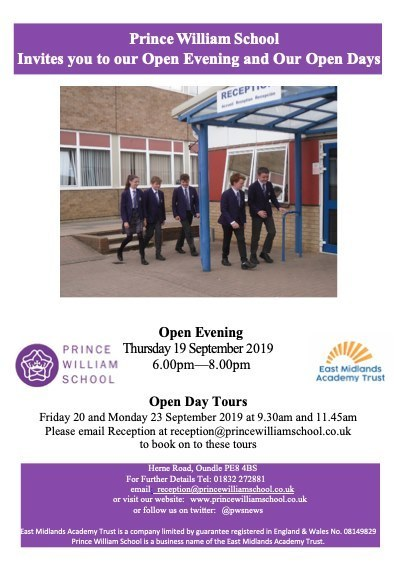 Pws open evening