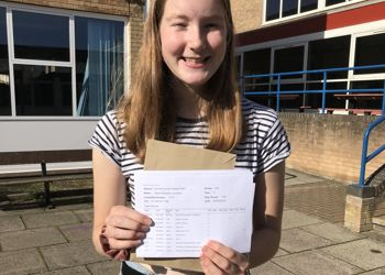 Hard work pays off for PWS GCSE students